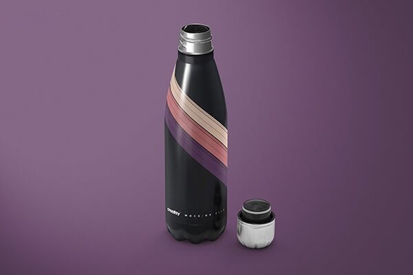 Vacuum Bottle Mockup