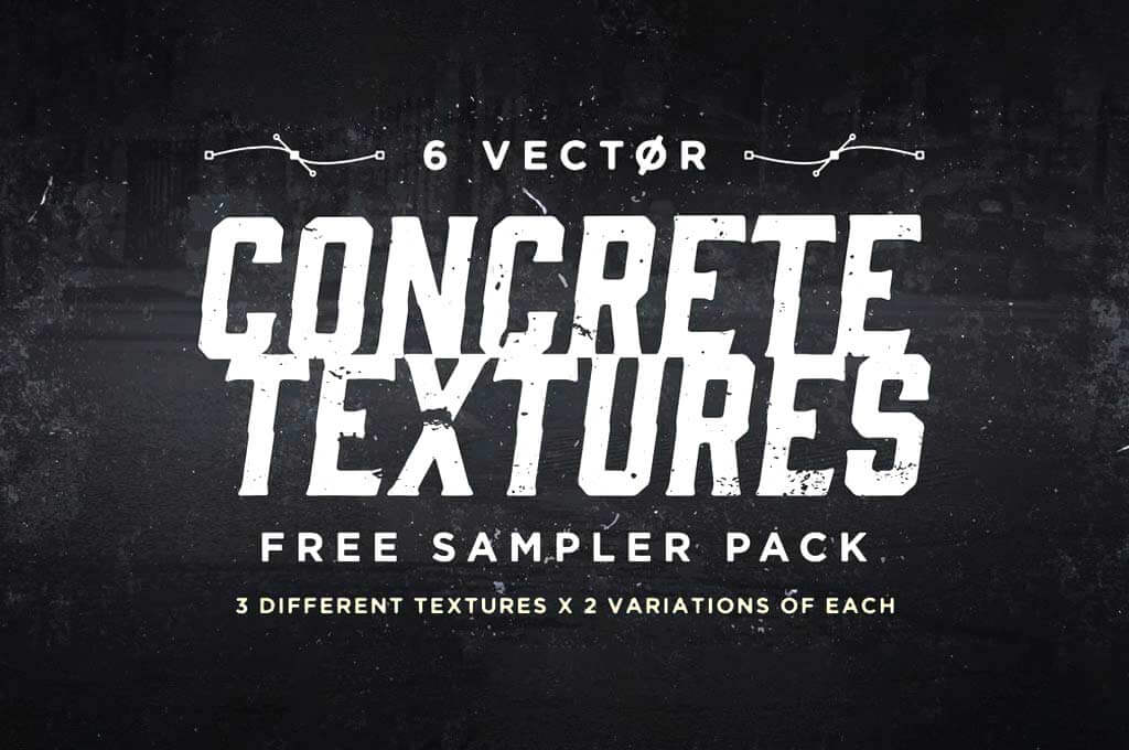 Vector Concrete Textures Sampler Pack