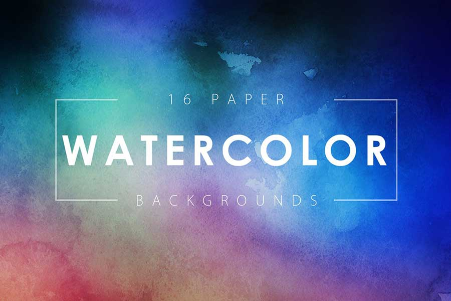 Watercolor Paper Backgrounds