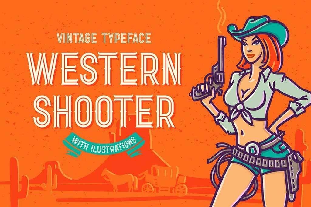 Western Shooter Font