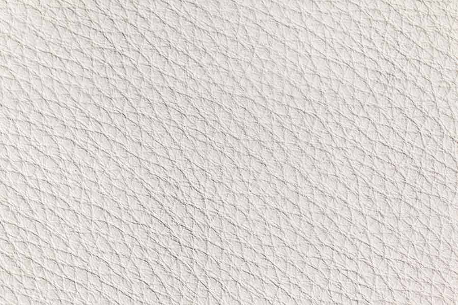 White Leather Texture Close-up