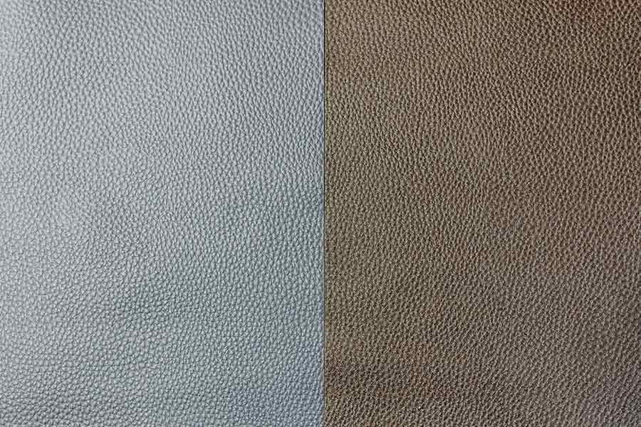White and Brown Striped Leather Texture