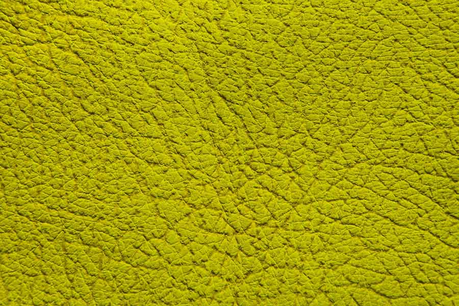 Yellow Green Leather Texture