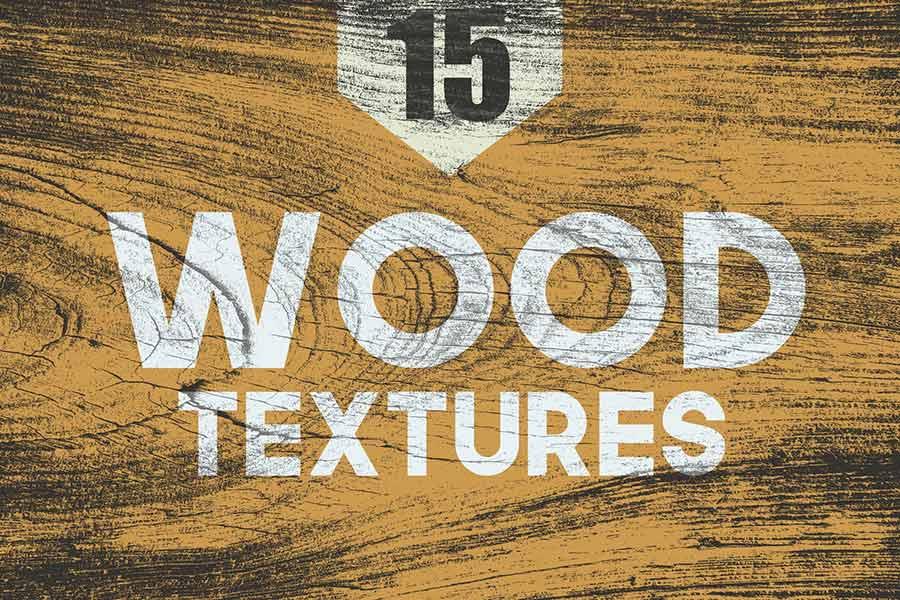 15 Wood Textures