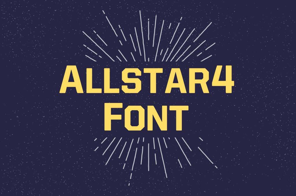Allstar4 Font