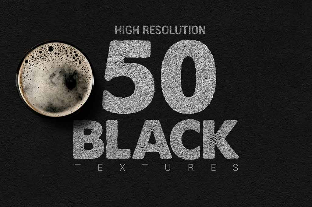 Bundle Black Textures