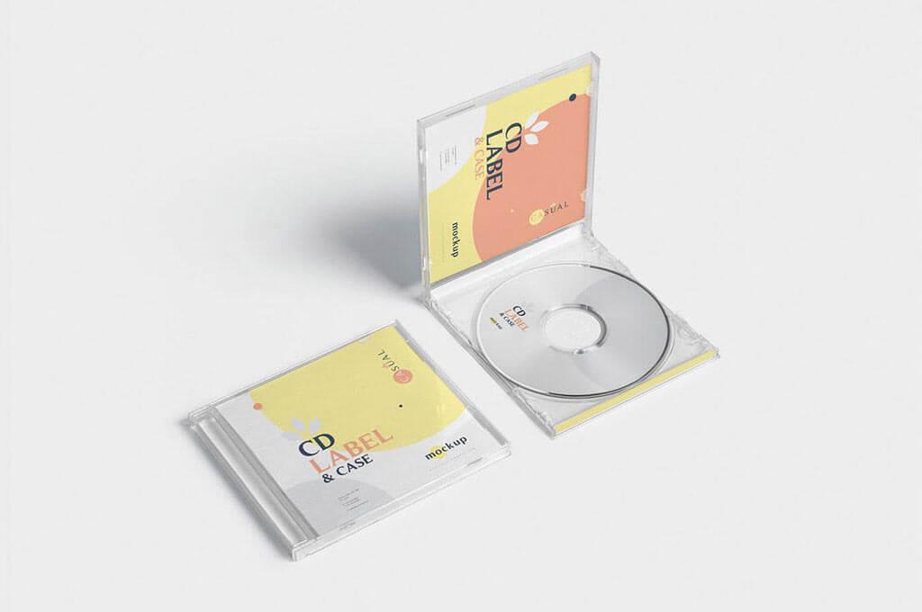 CD Case Mockups