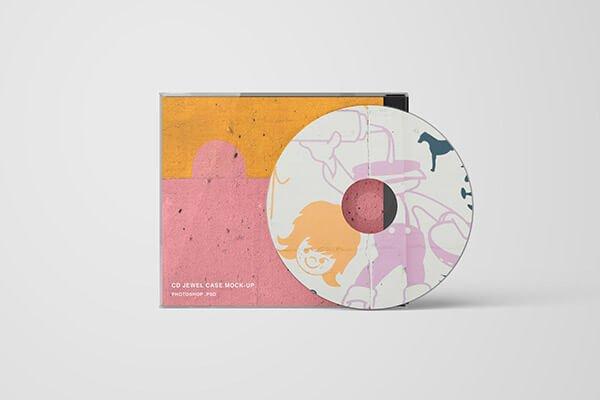 CD Mockup: Jewel Case