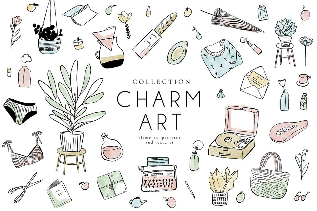 Charm Art Collection