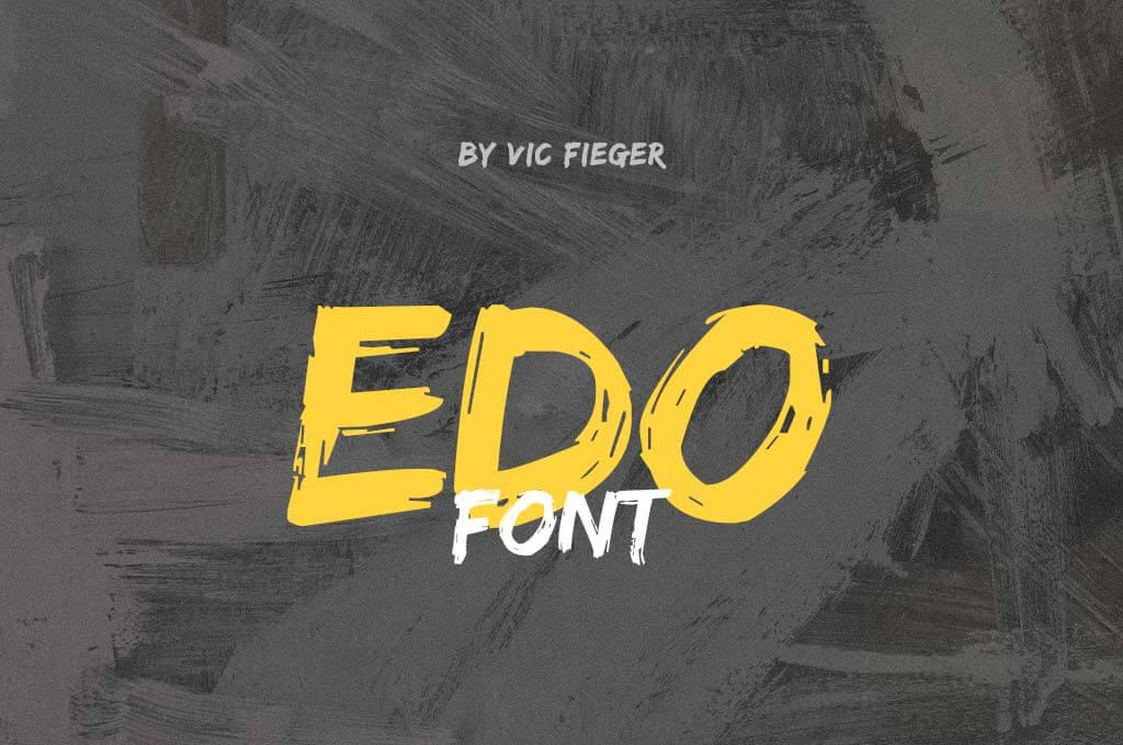 Edo Font Free