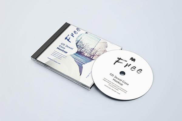 Free CD Mockup