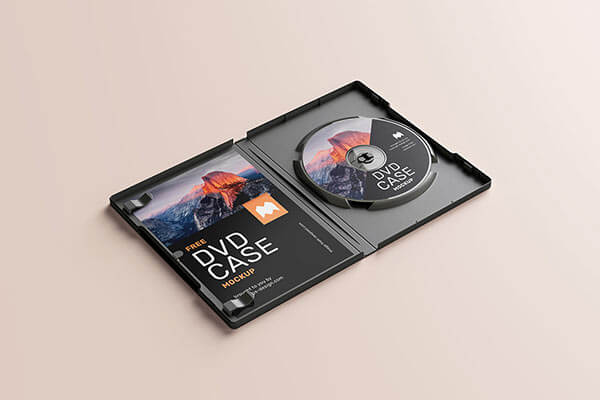 Free DVD Case Template