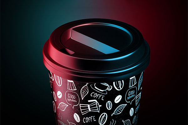 Freebie Coffee Cup Animated Mockup