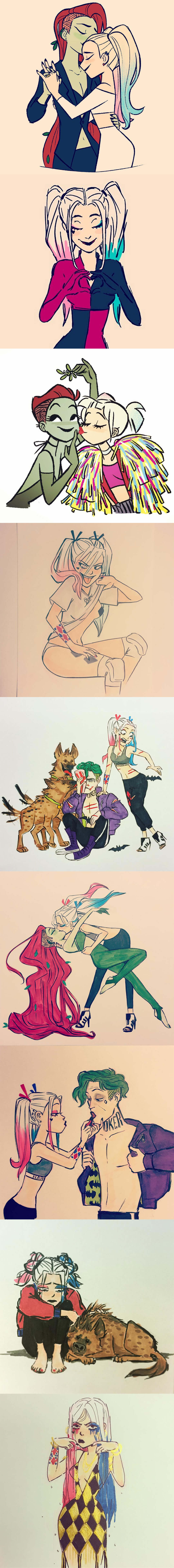 Harley Quinn Fanart by Erin Kavanagh