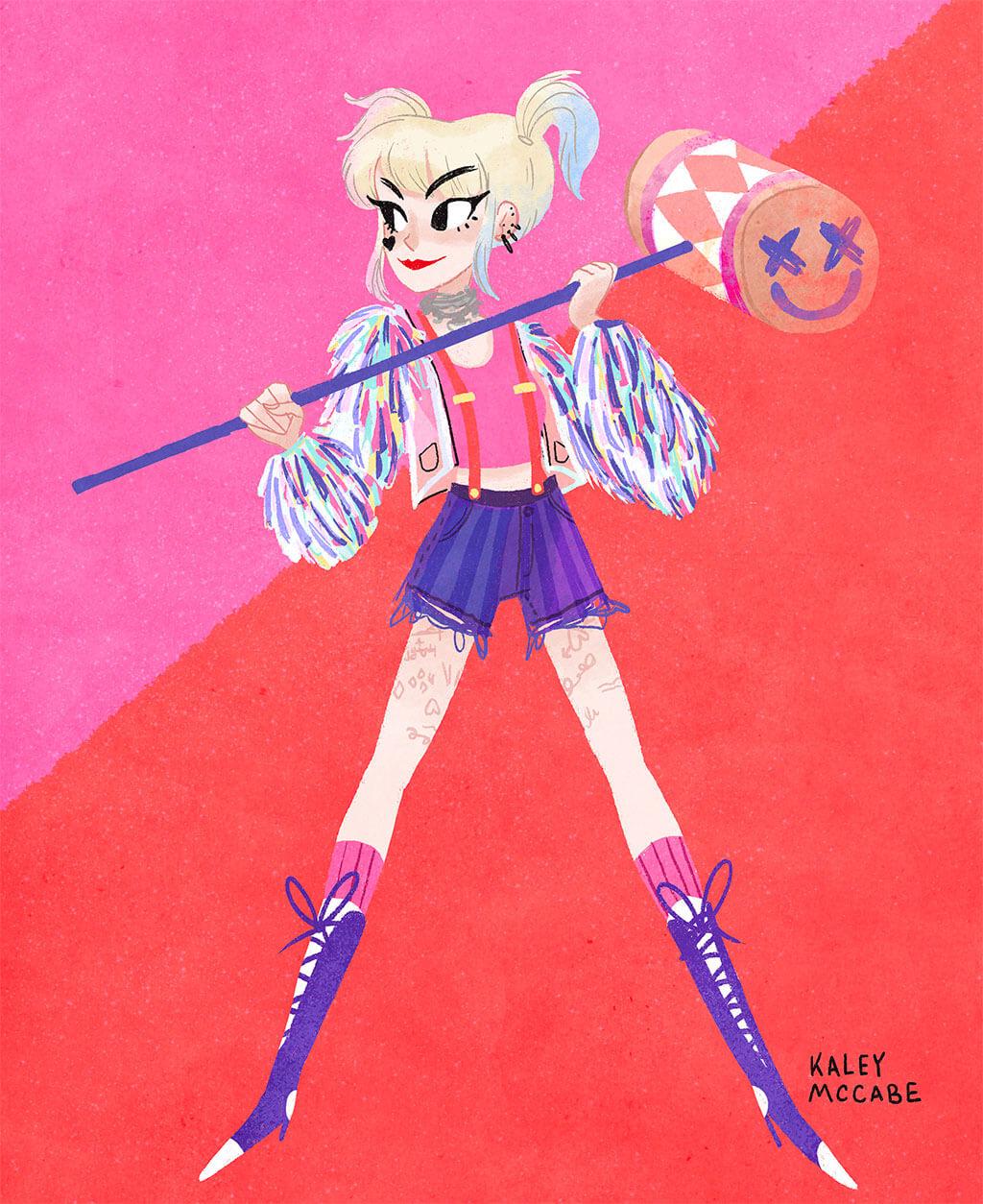 Harley Quinn by Kaley McCabe
