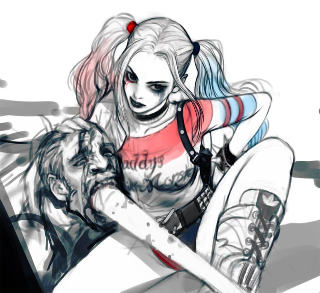 Harley Quinn by Lee jung-myung