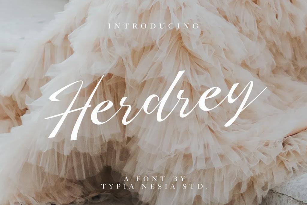 Herdrey Script Font