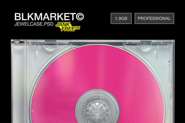 Jewelcase CD Mockup