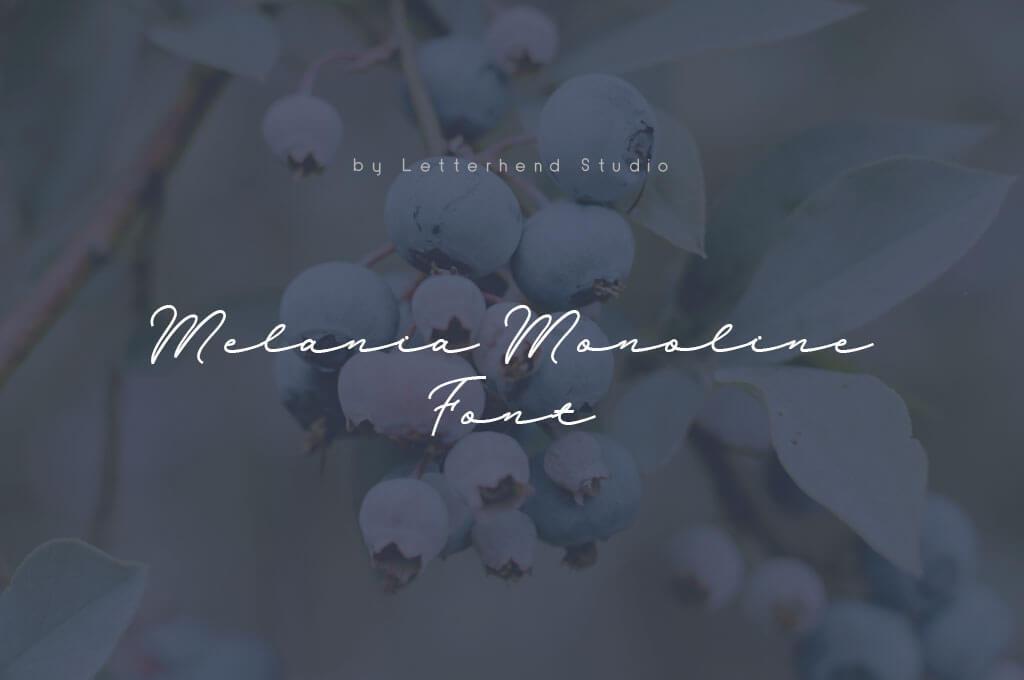 Melania Monoline