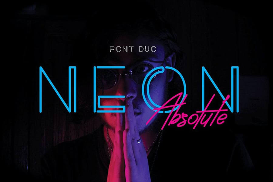 Neon Absolute - Font Duo