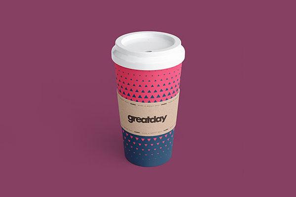 Paper Cup Mockup Set