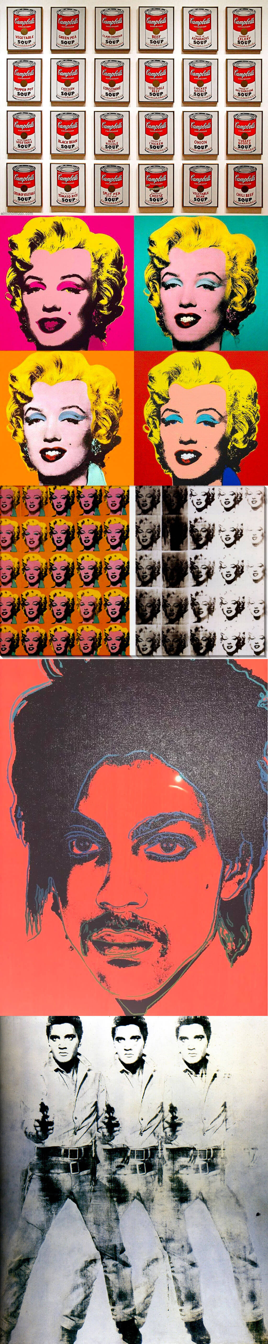 Pop Art by Andy Warhol