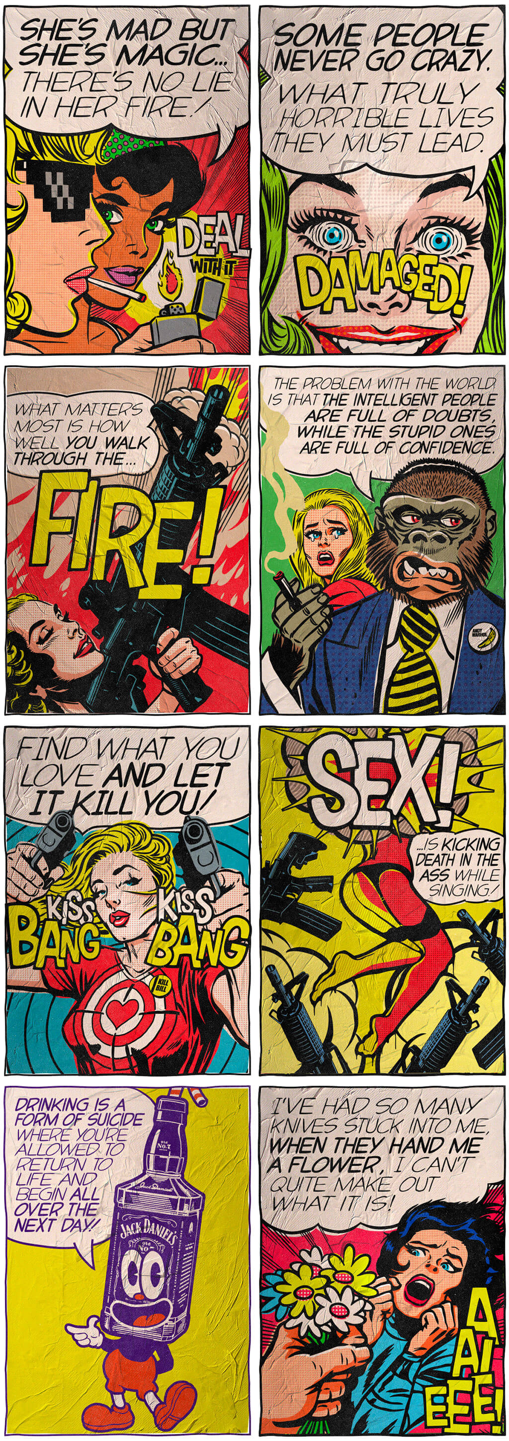 Pop Art by Butcher Billy