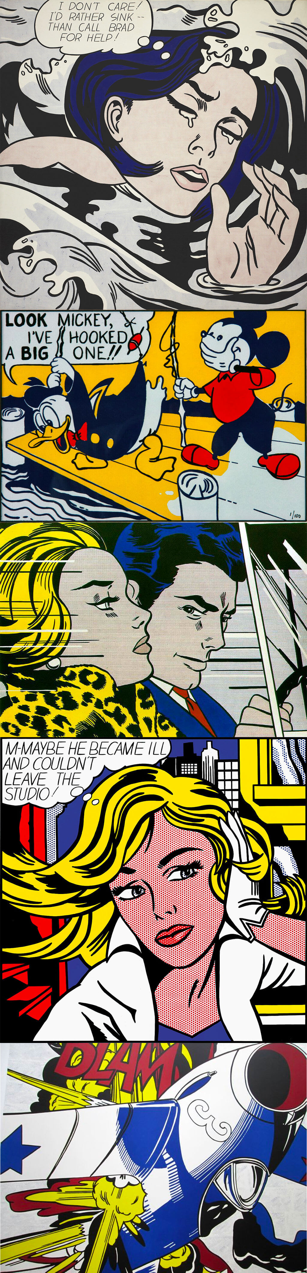 Pop Art by Roy Lichtenstein