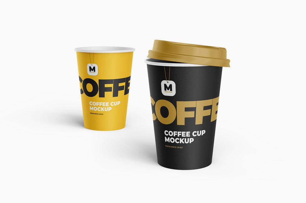 Tea and Coffee Cup Mockup