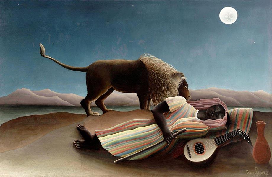 The Sleeping Gypsy, 1897, MoMA, New York