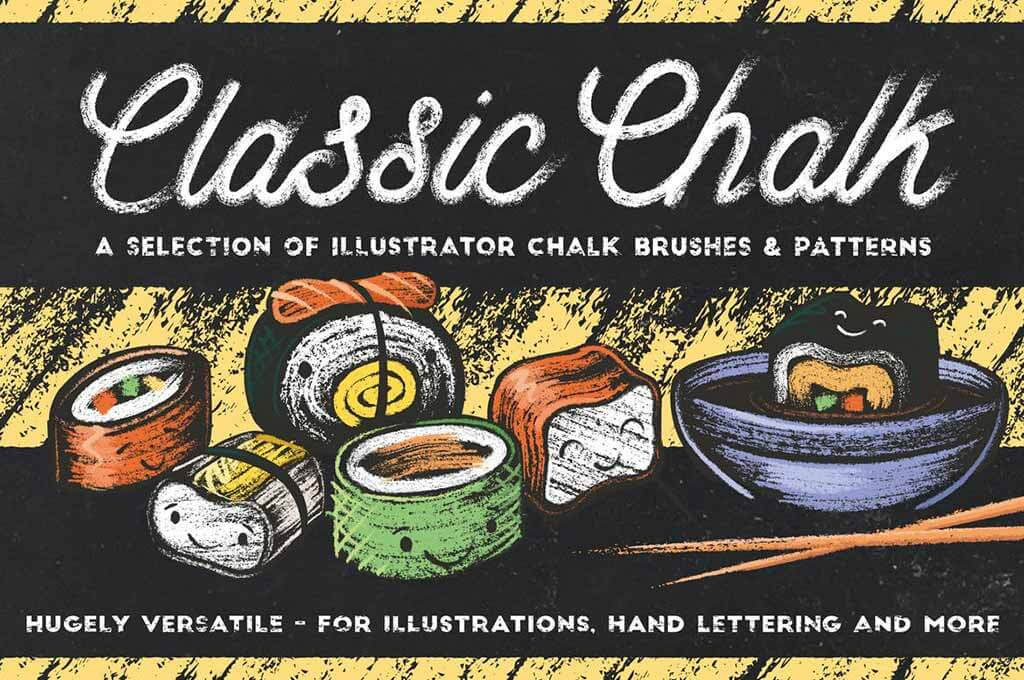 Classic Chalk — Brushes+Patterns