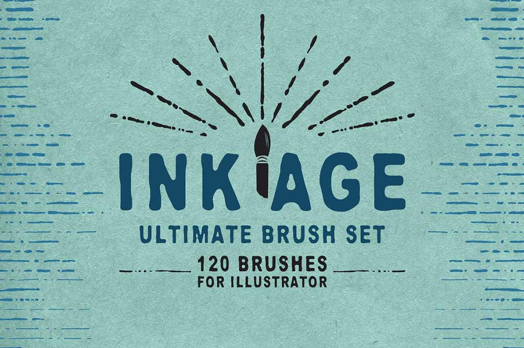 Ink Age Brushes for Adobe Illustrator