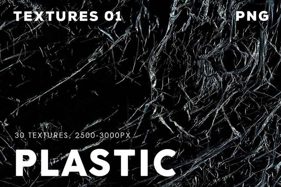 30 Plastic Texture Overlay