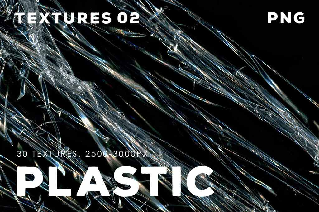30 Plastic Texture Overlays | 02