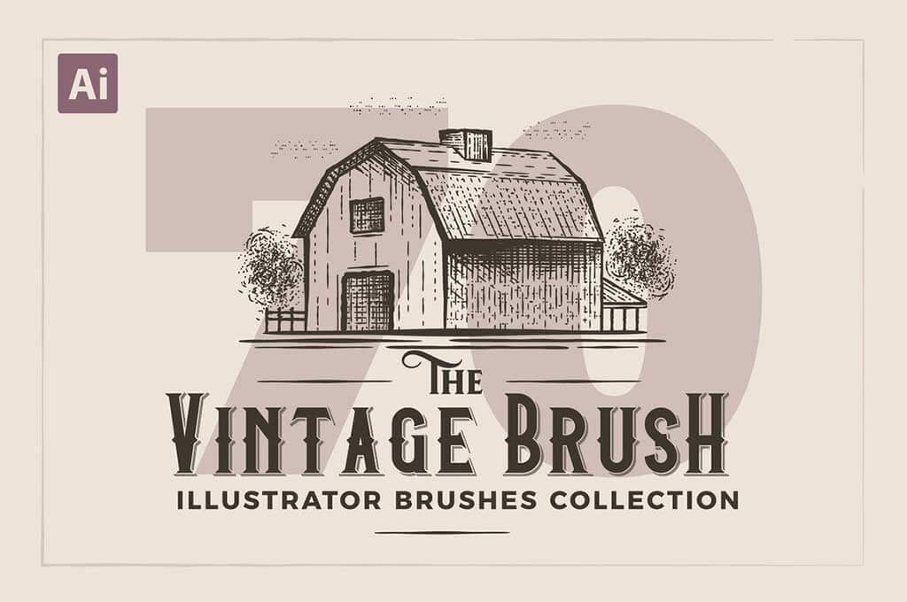 Illustrator Vintage Engraving Brushes