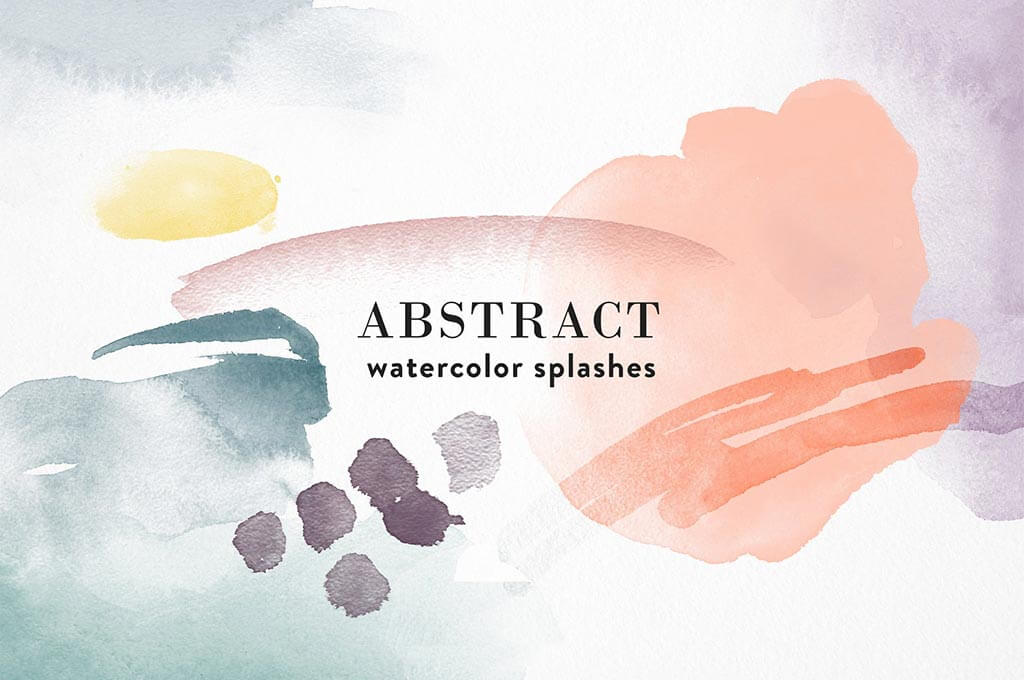 Abstract Photoshop Watercolor Brushes