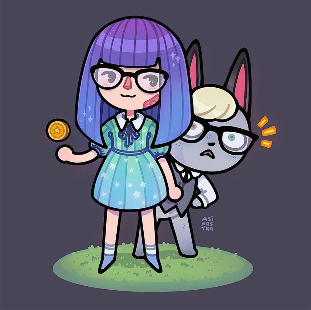 Animal Crossing Fan Art by Asinastra