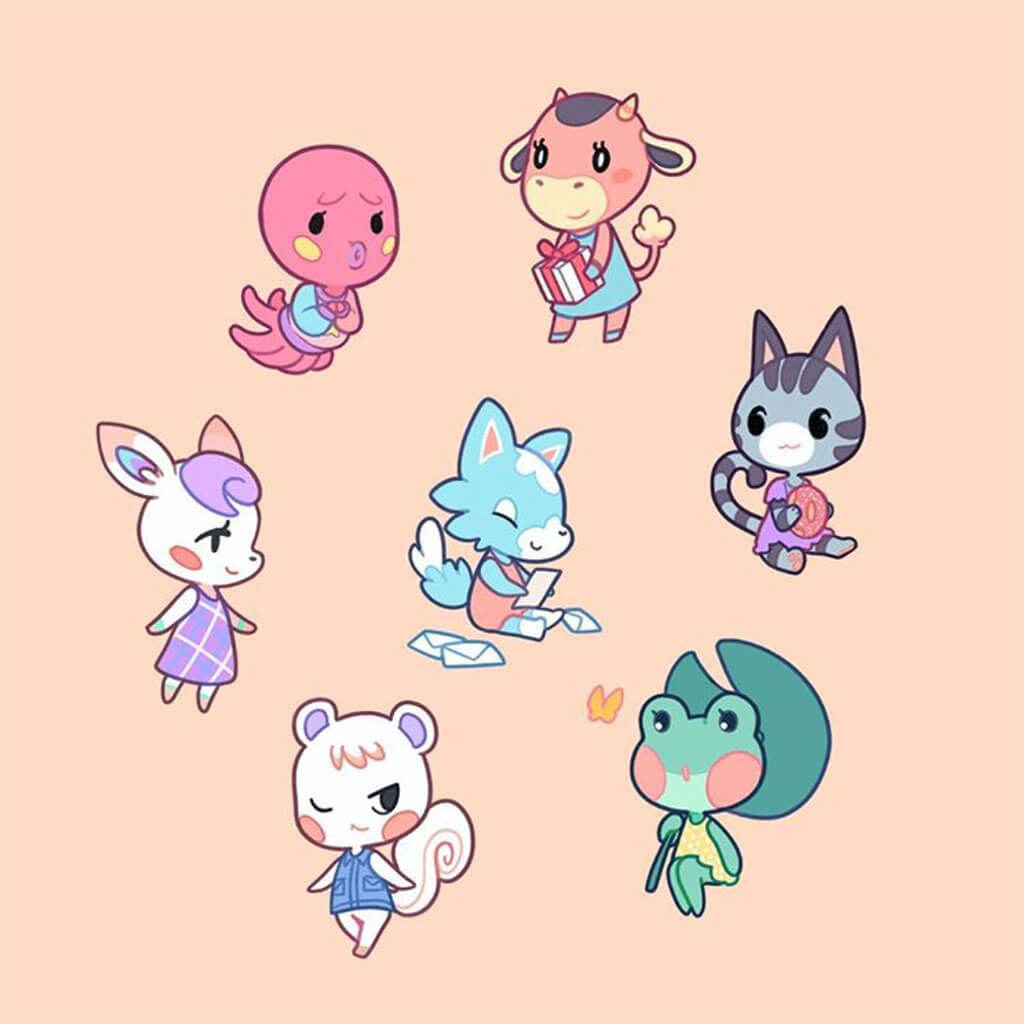 Animal Crossing Fan Art by xephia_art