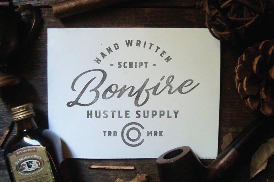Bonfire — Free Font