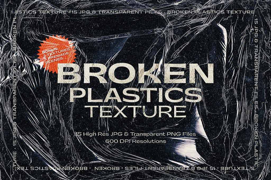 Broken Plastic Textures