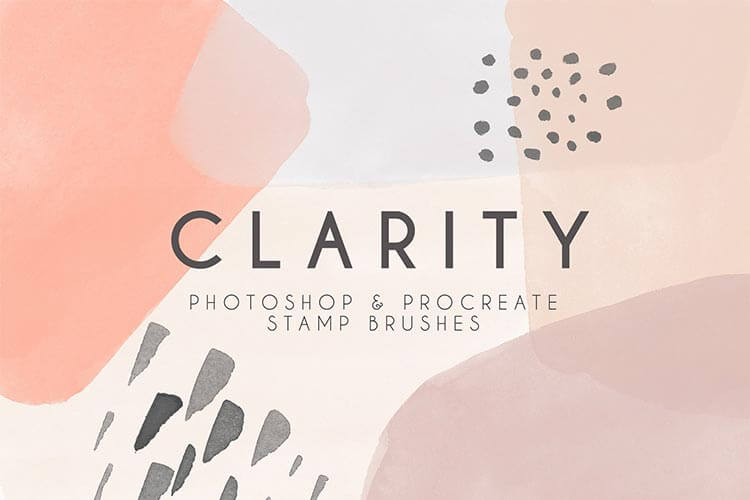 Clarity Procreate & Photoshop Watercolor Brushes