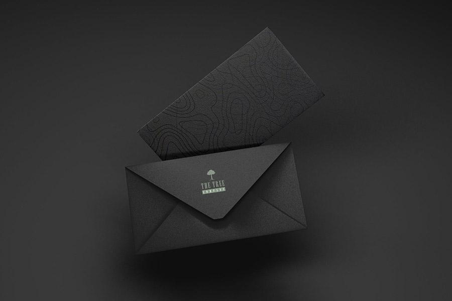 Company Envelope Mockup Set