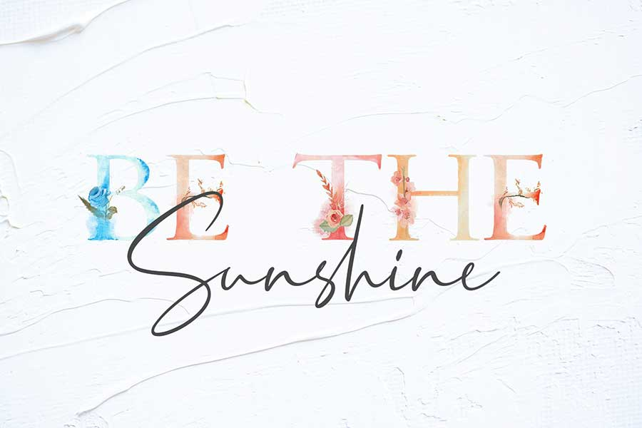 Crystal Vibes Spring Font & Extras