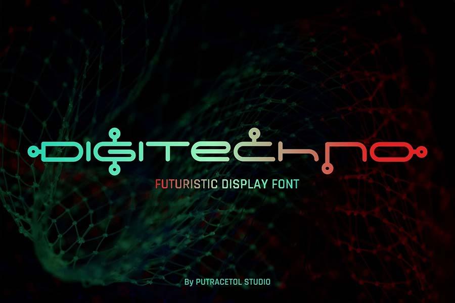 Digitechno — Futuristic Display