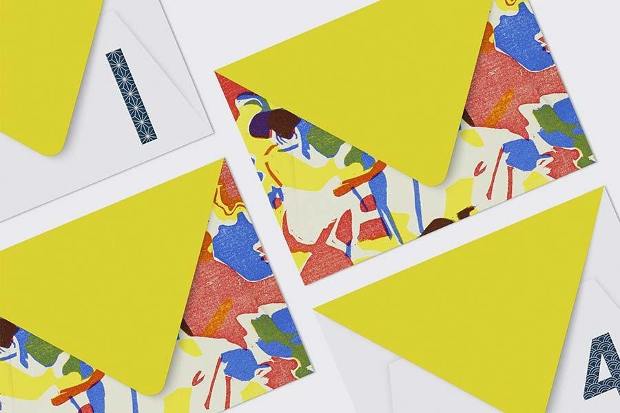 Envelope Design Mockup