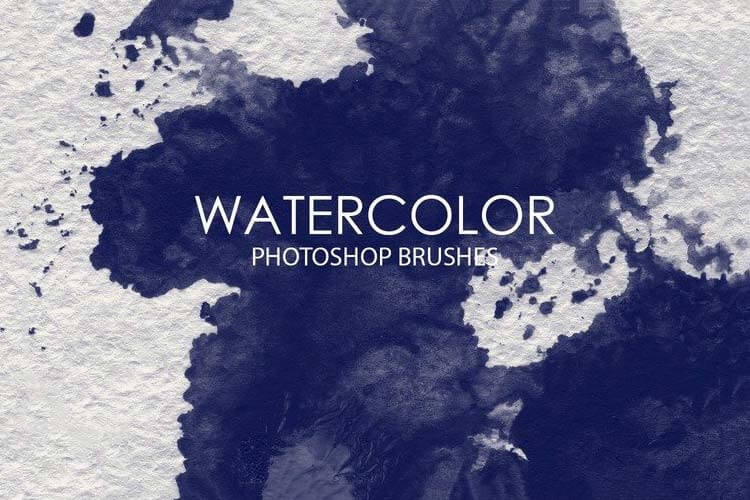 Free Watercolor Brushes for Photoshop