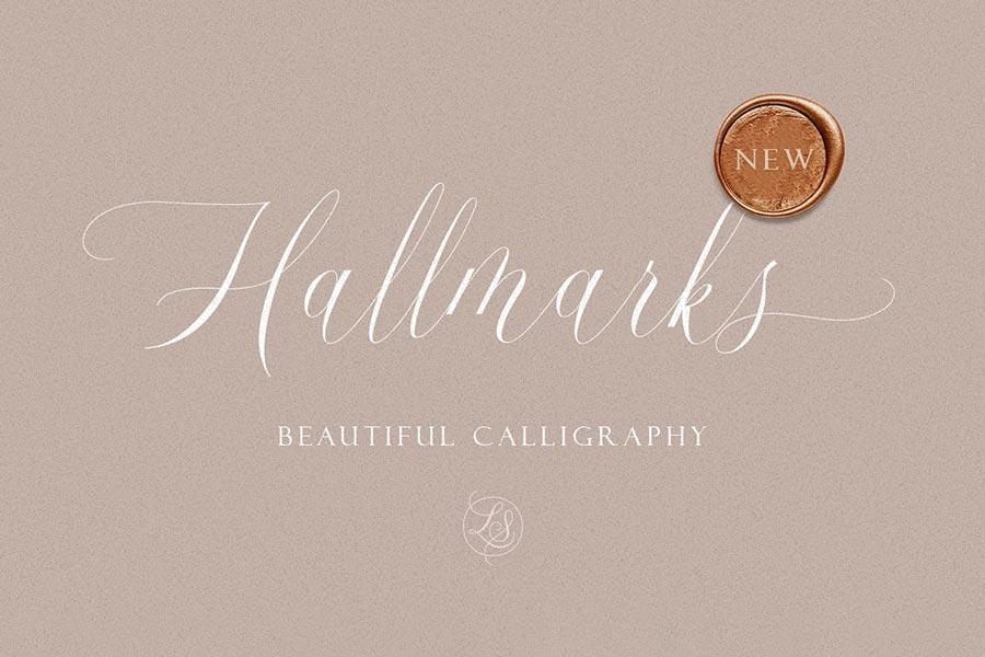 Hallmarks — Beautiful Calligraphy