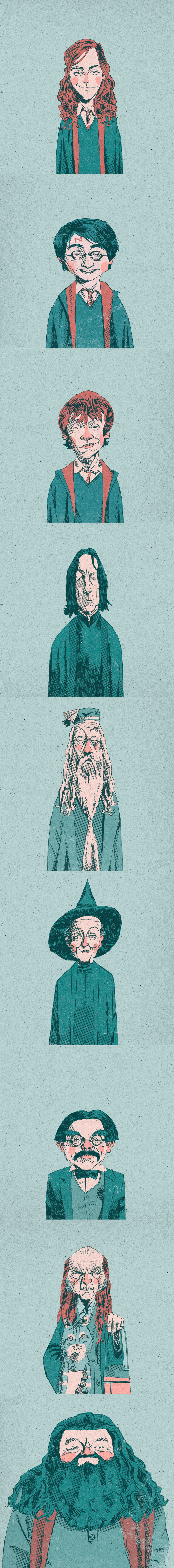 Harry Potter Fan Art by Alexander Jackson