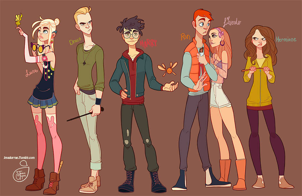 Harry Potter Fan Art by Jessica Madorran