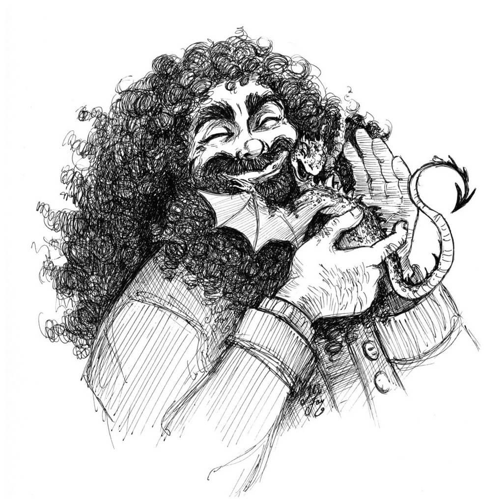 Harry Potter Fan Art by Julian Lopez